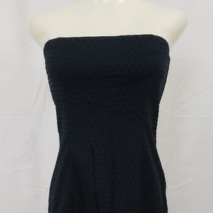 American Eagle Outfitters Dress 6 Black Strapless